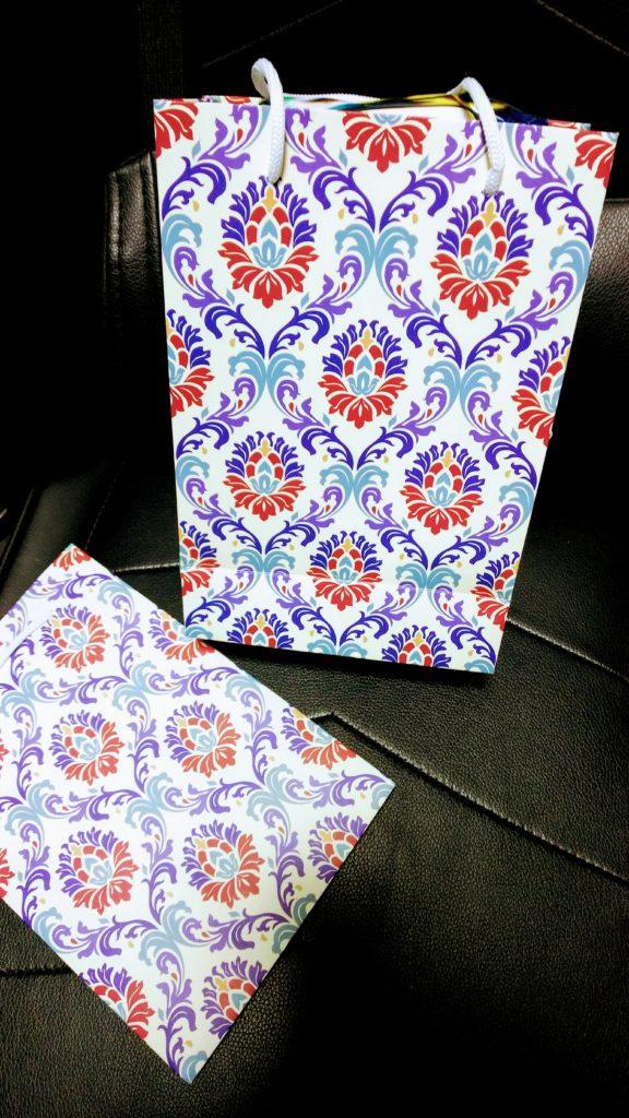 ウズベキスタン土産_紙袋